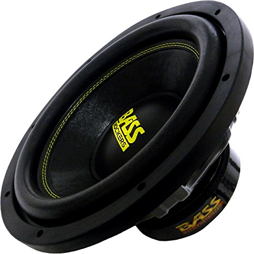 Bass Rockers 12'' 2000W Dual 4-Ohm Car Audio Sub Bass Subwoofer - BR124LP by Bass Rockers