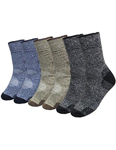 Dahlia Stockings - Dahlia Cushioned Cotton Mens Socks/Athletic/Running Socks/Crew Socks 3 Pack