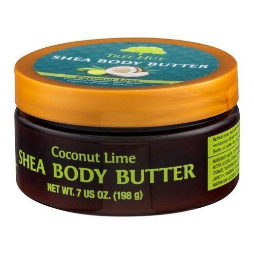 Tree Hut Shea Body Butter, Coconut Lime, 7-Ounce (Pack of 3) ()