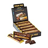 amber lyn chocolate - Amber Lyn Sugar-Free Dark Chocolate Orange Bar, 15-Count