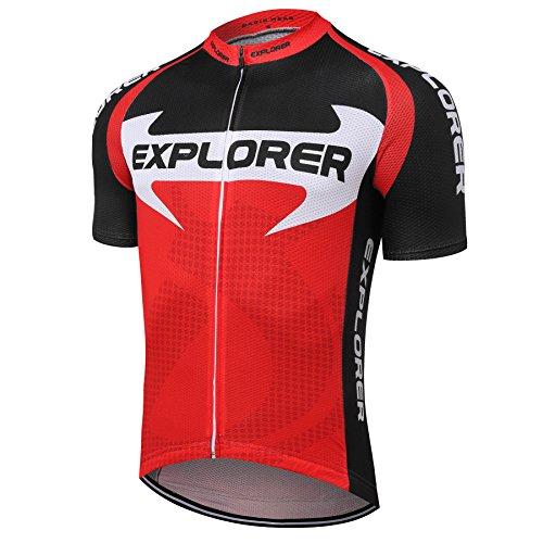 Zip Short Sleeve Cycling Jersey - 4
