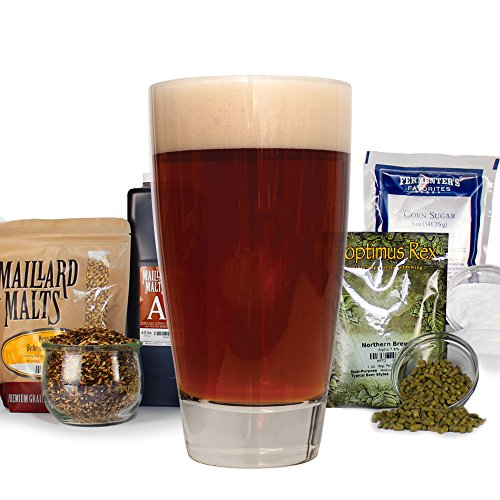 Irish Red Draught Ale Homebrew Beer Recipe Kit - Malt Extract (Ale Red Beer)