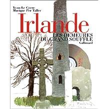 IRLANDE LES DEMEURES DU GRAND SOUFFLE +CD AUDIO