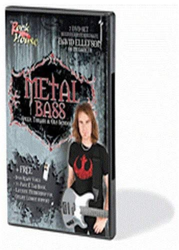 Rock House Metal Guitar - David Ellefson of Megadeth - Metal Bass