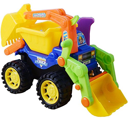 Topwon Excavator Construction Sand Beach Truck Vehicle - Cat Sand Colored