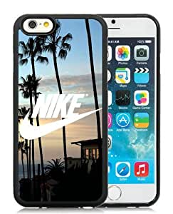 Fantastic Customized Nike iPhone 6 4.7 Inch TPU Case Just do it Series 3 Black