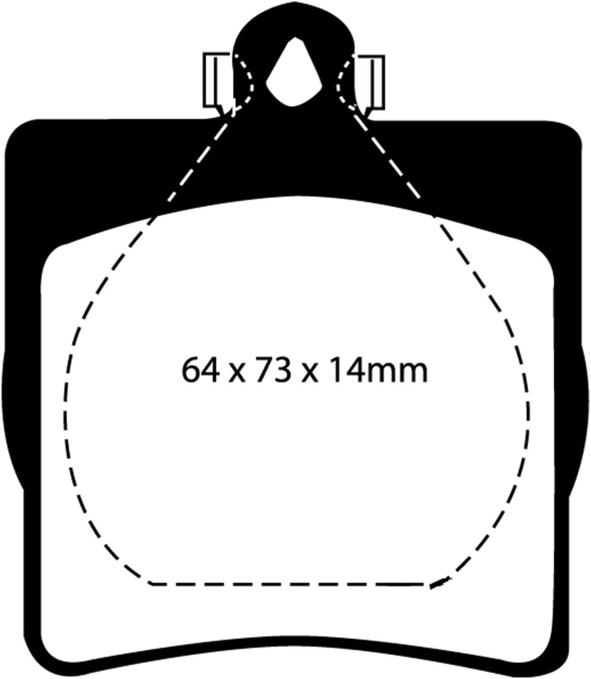 CarFashion 242483 Calypso Rot DL4 Automatten Auto Fussmatten Set ohne Mattenhalter rote Hochglanz Kettelung schwarzer Trittschutz Auto Fussmatte in Schwarz