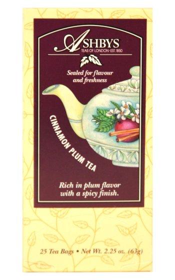Ashbys Cinnamon Plum Tea, 25 Bags