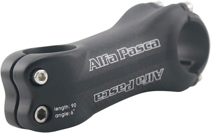 """Full Carbon Fiber 1-1//8/"""" 3K 31.8 MTB Road Bike Bicycle 6°//17° Handlebar Bar Stem"""