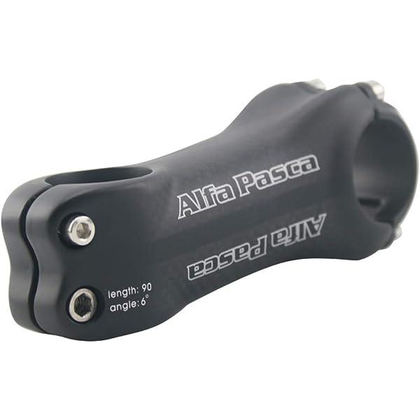 WCS IVEKE 3K Gloss Carbon Fiber Bike MTB Bicycle 1 1//8 31.8mm Handlebar stem Angle 6/° Degree 70 80 90 100 110 120 130 mm