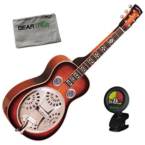 - Gold Tone PBS-D Paul Beard Signature Squareneck Deluxe Resonator Guitar w/Geart