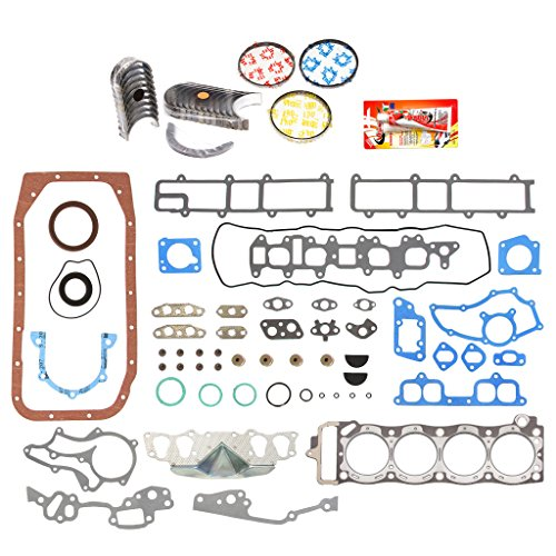 Main Set Bearing Pickup (Domestic Gaskets Engine Rering Kit FSBRR2000EVE\0\0\0 85-95 Toyota 4Runner Pickup Celica 22R 22RE 22REC Full Gasket Set, Standard Size Main Rod Bearings, Standard Size Piston Rings)