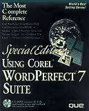 Using Corel WordPerfect Suite 7 9780789709998