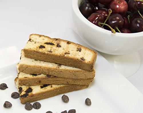 (Irene's Bakery All Natural Fat Free Chocolate Chip Cherry Biscotti)