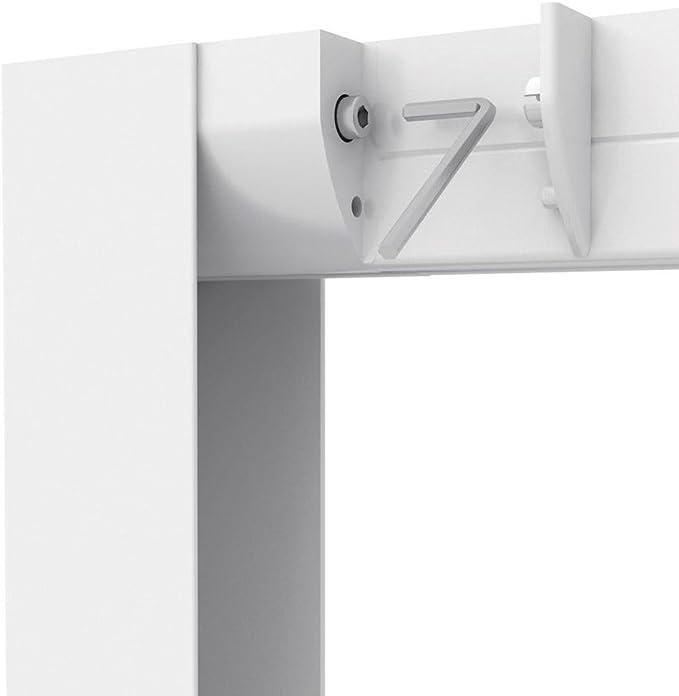 Protección anti- insectos - Puerta con mosquitera corrediza - 160x220 cm - Marco de aluminio - Blanco: Amazon.es: Bricolaje y herramientas
