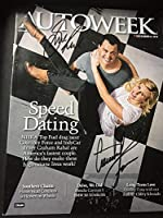 Courtney Force Graham Rahal Signed Magazine NHRA Indy Series Autograph - Autographed NASCAR Magazines by Sports Memorabilia