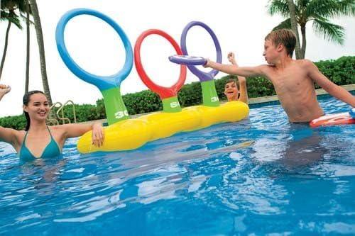 Nuevo Intex niños Toss N Spin Aqua piscina hinchable de aro ...