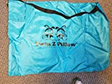 Twin Z Pillow + 1 Teal Cover + Free Travel
