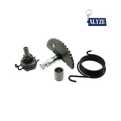 Amazon com: XLYZE Kick Start Gear Assembly For GY6 49cc 50cc