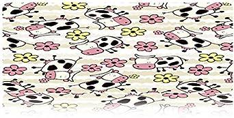 Animal de Dibujos Animados Imprimir Imágenes Alfombrilla de Ratón Teclado Alfombrillas Alfombrilla de Radiador Alfombrilla Antideslizante Alfombrilla de Ratón para Juegos 700 * 300 * 3 Mm