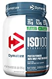 Cheap Dymatize ISO 100 Whey Protein Powder Isolate, Natural Chocolate, 1.6lbs