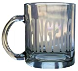 Personalized 12oz Glass Coffee Mug