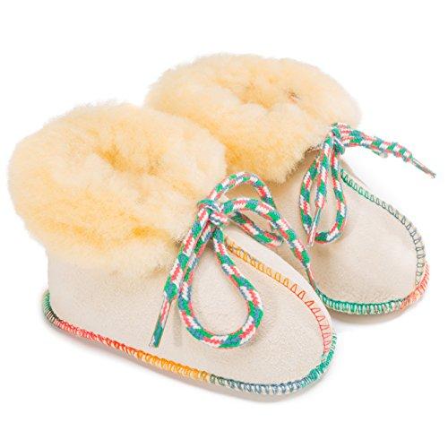"Baby weet ""Sheepy de Boots Natural 17–"