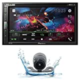 Pioneer AVH-310EX Multimedia DVD Receiver with 6.8' WVGA Display and Bluetooth Streaming w/Back up Camera PK1