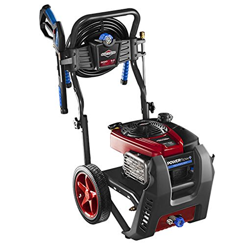 Briggs & Stratton 20569 POWERflow+ 5.0-GPM 3000-PSI Gas Pressure Washer with Professional Series OHV 190cc Engine and Easy Start Technology - Briggs And Stratton Pressure Washer