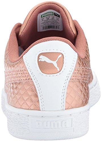 Pictures of PUMA Basket Met Emboss Kids Sneaker Copper 8