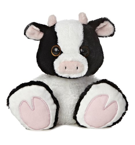 Aurora World Taddle Toes Milkshake Cow Plush, 10