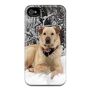 Iphone 4/4s Case, Premium Protective Case With Awesome Look - Casey Posing On A Snowbank