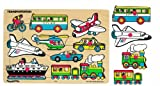 Small World Toys Ryan's Room Wooden Puzzle - Classic Transportation