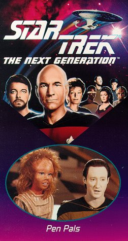 - Star Trek - The Next Generation, Episode 41: Pen Pals [VHS]