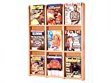 Divulge 9 Magazine Wall Display