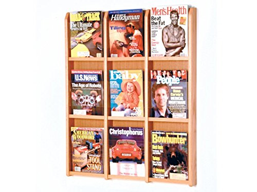 Divulge 9 Magazine Wall Display by Wooden Mallet