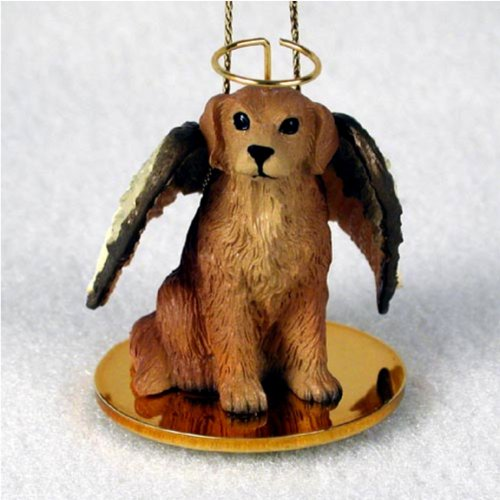 Golden Retriever Dog Angel Christmas Ornament