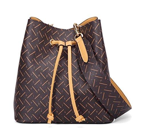 Bag Bag Bandoulière Main Sacs à Apricot à Shopping Sacs Femmes Mode Casual Vintage Tote ZYwSq7pSg