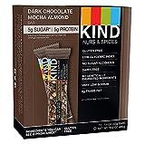 Kind Bars, Dark Chocolate Mocha Almond, Gluten Free, Low Sugar, 1.4oz
