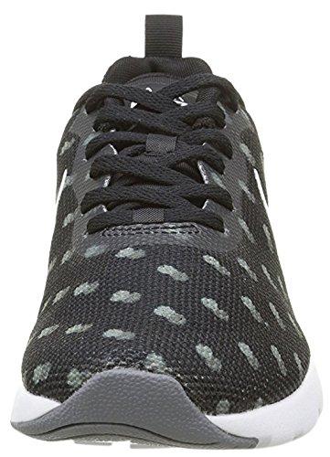 Nike Womens Wmns Air Max Sirena Stampa, Nero / Bianco-cool Grigio-lupo Grigio Nero