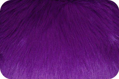 Faux Fur Luxury Shag Purple 60 Inch Wide Fabric By the Yard (F.E.つ) by FABRIC EMPIRE   B009W7EZMQ