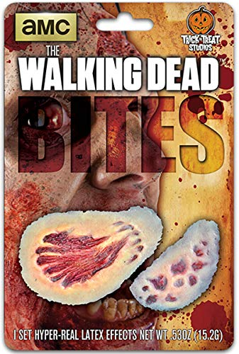 The Walking Dead Zombie Bites Wound Appliance Make Up Kit
