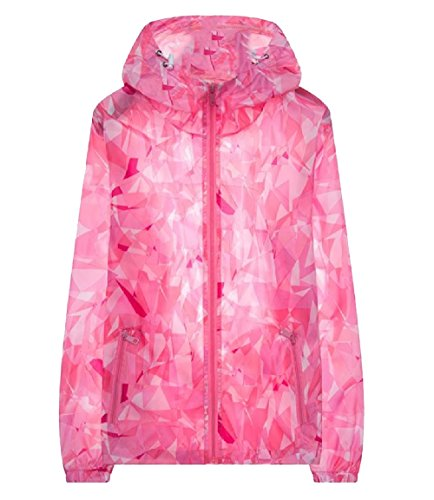 Men Quick Pink Hood Zips Breathable AngelSpace with Thin Drying Coats Jacket Casual UAdBxT