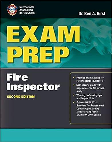 Exam prep fire inspector i ii 9781449609641 medicine health exam prep fire inspector i ii 2nd edition fandeluxe Images