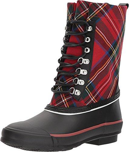 BURBERRY Rowlette Mid-Calf Check Rain Boots (41 B EU)
