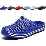 welltree Garden Shoes/Sandals Women Men Quick Drying Clogs/Slippers Walking Lightweight Rain Summer 10 Men/12 Women/Dark Blue/44