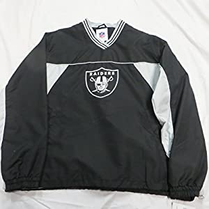 Amazon.com : Oakland Raiders Mens Large Pullover V-Neck ...