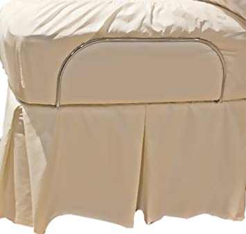 Amazon.com: Bed Skirts for Adjustable Bed Systems Queen Ecru