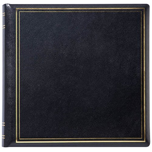 Personalized Presidential Oversize Album-Black 3 Lines by Exposures