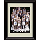 Framed 1992 US Olympic Team Dream Team Autograph Replica Print